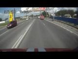 ДТП с пожарной машиной на Выборгском ш. (04.07.12)